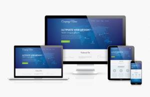 bigstock Responsive web design template 70272712