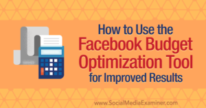 facebook budget optimization tool how to 600
