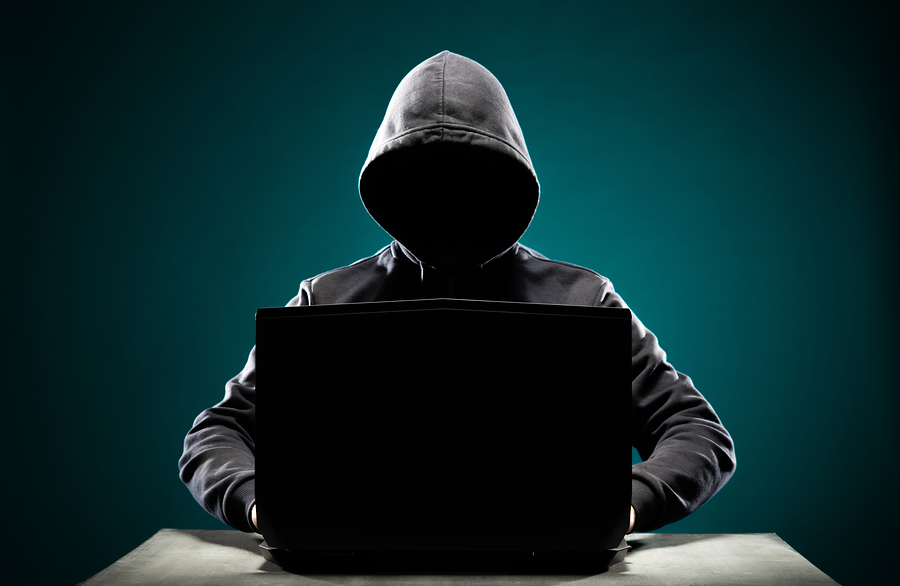 bigstock Computer hacker in hoodie Obs 288153088